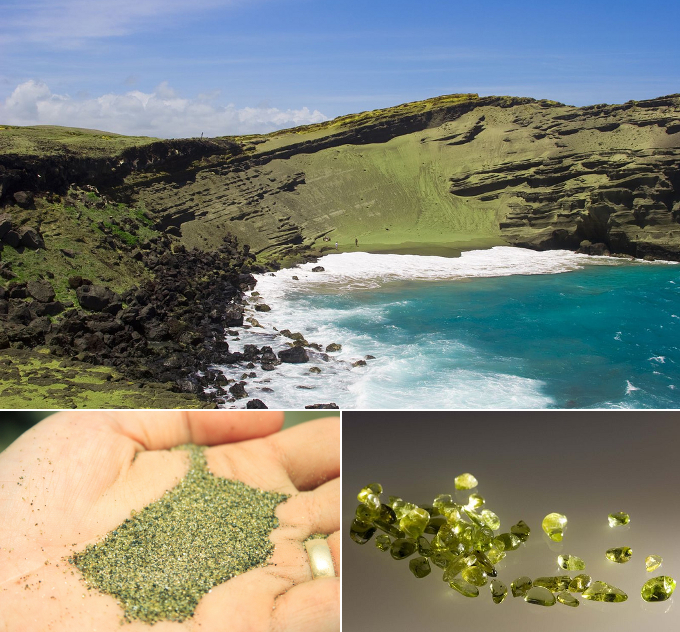 Big Island Beaches: Papakolea-Green-Sand-Beach-Big-Island