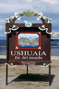 Ushuaia the last point in the world