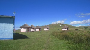 Bulungula, an eco-lodge on the coast of South Africa (photo David Lee)
