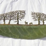 Cutaway-Leaf-Art