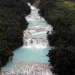  Palenque, Mexico ... Blue Water Waterfalls